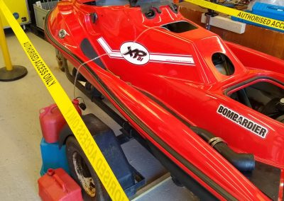 Converting a petrol jet ski into an electric vehicle