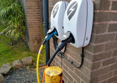 EV Charging points available