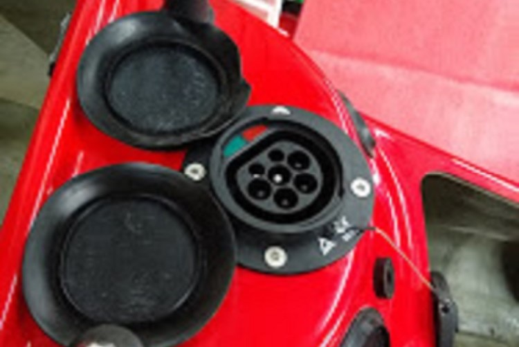 Type 2 Charging Socket for the Electric Jet Ski