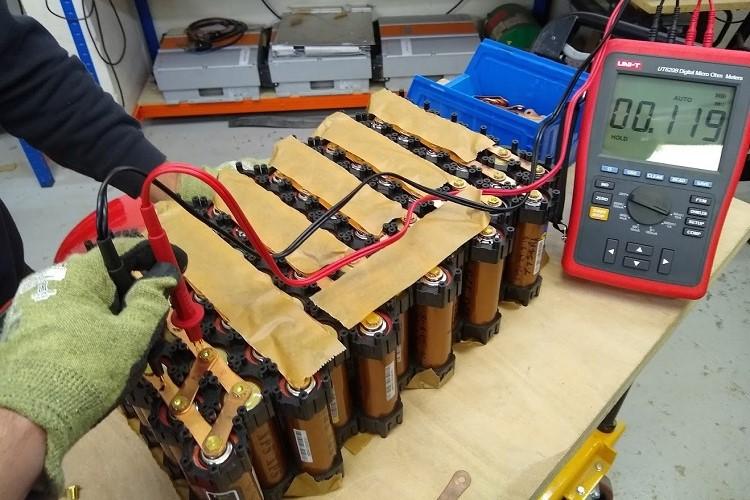 Jet Ski Battery Testing